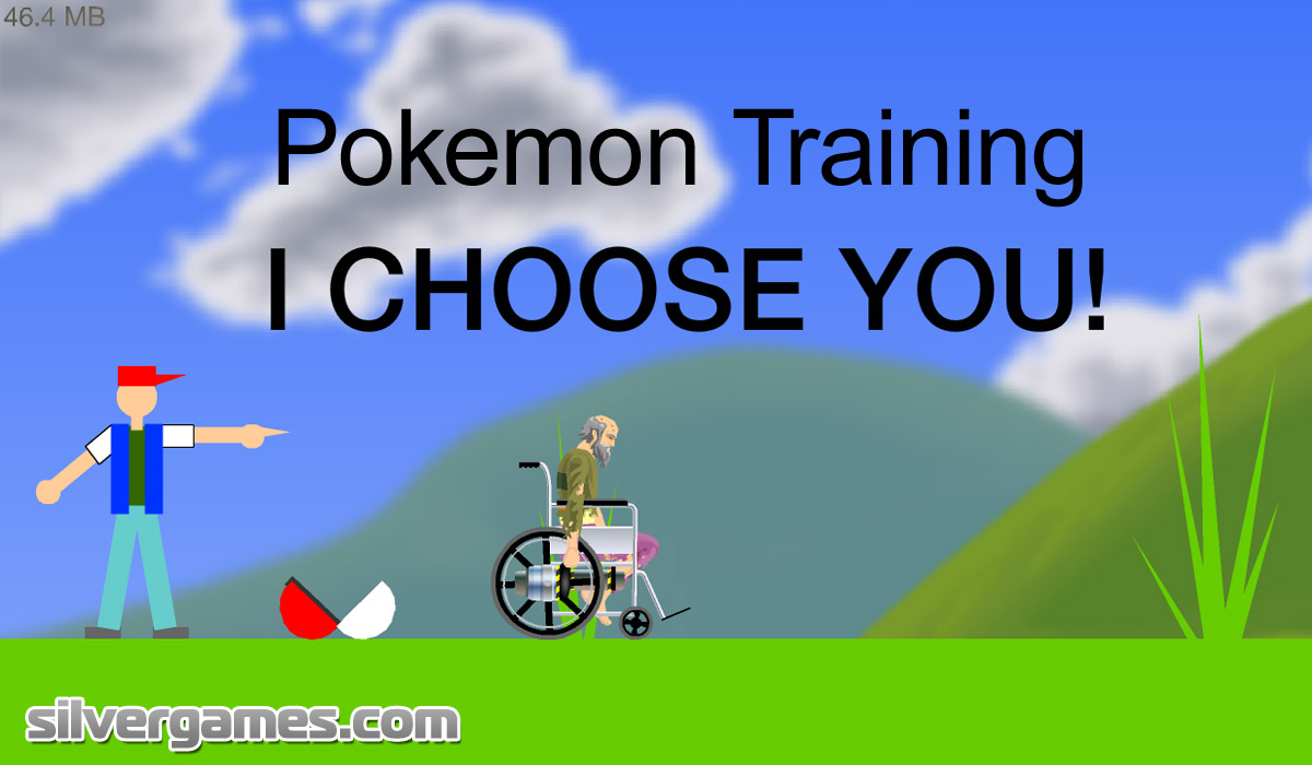 Happy Wheels Pokemon Training