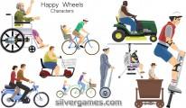 Happy Wheels Characters
